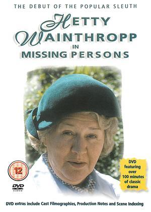 Rent Hetty Wainthropp: Missing Persons Online DVD Rental