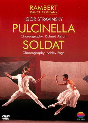 Rent Stravinsky: Pulcinella / Soldat: Rambert Dance Company Online DVD & Blu-ray Rental