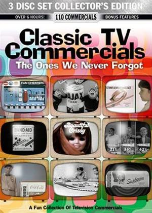 Rent Classic TV Commercials 3 Disc Set: The Ones We Never Forgot Online DVD Rental