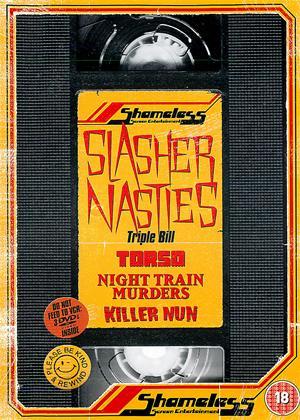 Rent Shameless Slasher Nasties (aka Suor Omicidi /  I corpi presentano tracce di violenza carnale / L'ultimo treno della notte) Online DVD Rental
