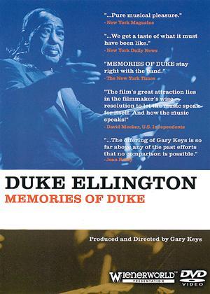 Rent Duke Ellington: Memories of Duke Online DVD & Blu-ray Rental