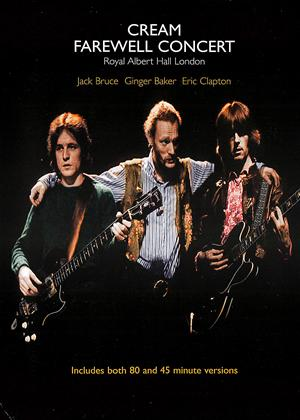 Rent Cream: Farewell Concert Online DVD Rental