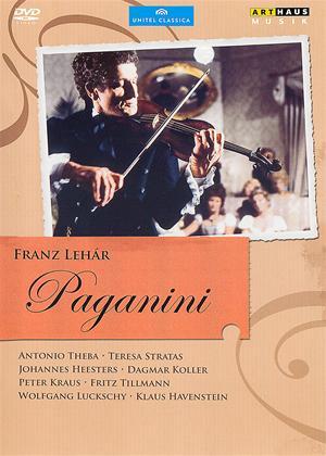 Rent Franz Lehar: Paganini Online DVD Rental
