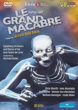 Rent Le Grande Macabre: La Fura Dels Baus (Boder) Online DVD Rental