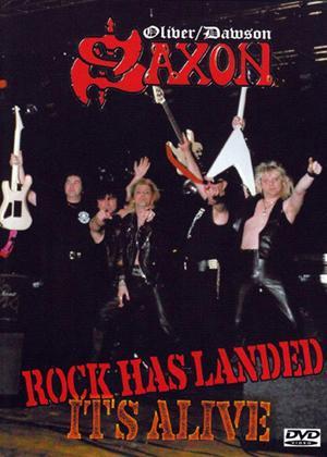 Rent Saxon: Rock Has Landed: It's Alive Online DVD Rental