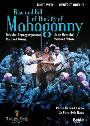 Rent Rise and Fall of the City of Mahagonny: Teatro Real (Pablo Heras-Casado) Online DVD Rental