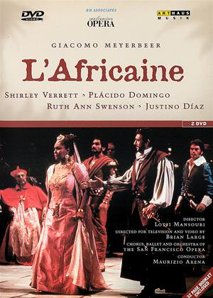 Rent L'Africaine: San Francisco Opera House (Maurizio Arena) Online DVD Rental