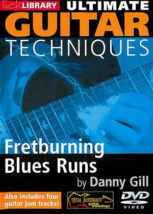 Rent Ultimate Guitar Techniques: Fretburning Blues Runs Online DVD Rental
