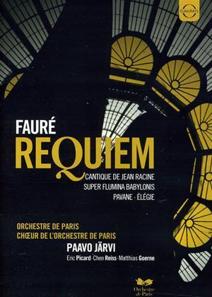 Rent Fauré: Requiem: Choir of the Orchestre De Paris (Järvi) Online DVD Rental