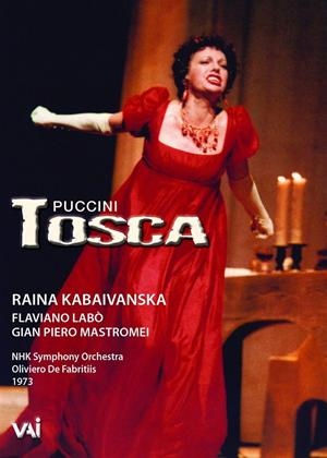 Rent Tosca: NHK Symphony Orchestra (De Fabritiis) Online DVD Rental