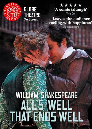 Rent Shakespeare's Globe: All's Well That Ends Well Online DVD Rental