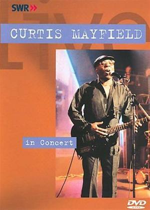 Rent Curtis Mayfield: Live in Concert Online DVD Rental