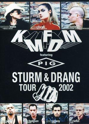 Rent KMFDM: Sturm and Drang Tour 2002 Online DVD Rental