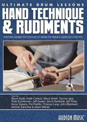 Rent Ultimate Drum Lessons: Hand Technique and Rudiments Online DVD Rental