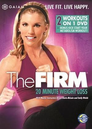 Rent The Firm: 20 Minute Cardio Blast Online DVD Rental