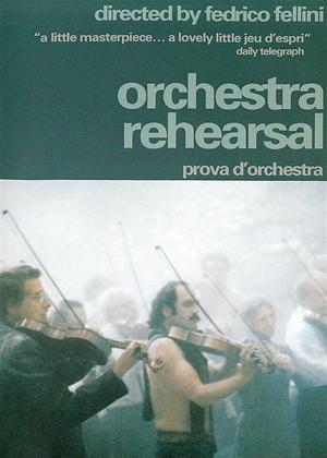 Rent Orchestra Rehearsal (aka Prova d'orchestra) Online DVD & Blu-ray Rental