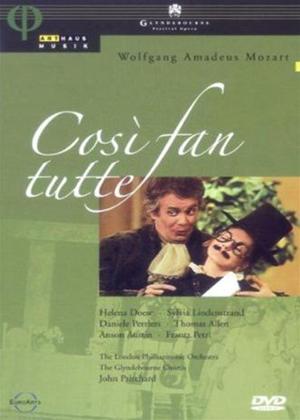 Rent Mozart: Cosi Fan Tutte: Glyndebourne Festival Opera Online DVD Rental