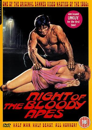 Rent Night of the Bloody Apes (aka La Horripilante Bestia Humana) Online DVD Rental