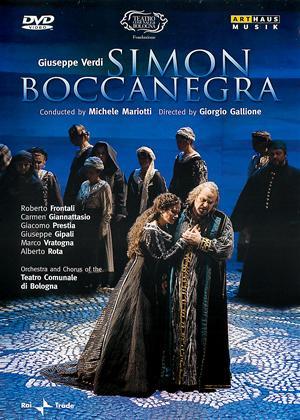 Rent Giuseppe Verdi: Simon Boccanegra (Teatro Comunale di Bologna) Online DVD & Blu-ray Rental