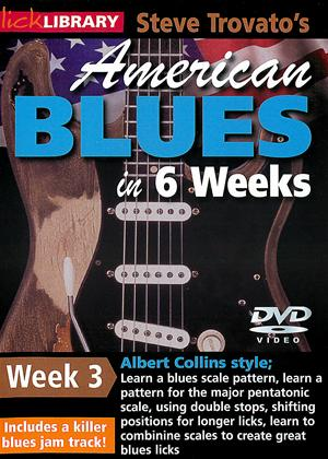 Rent American Blues Guitar in 6 Weeks: Week 3 - Albert Collins Online DVD Rental