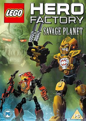 Rent Lego Hero Factory: Savage Planet Online DVD Rental
