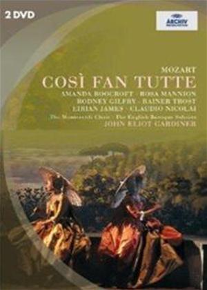 Rent Mozart: Cosi Fan Tutte: The English Baroque Soloists and The Monteverdi Choir Online DVD Rental