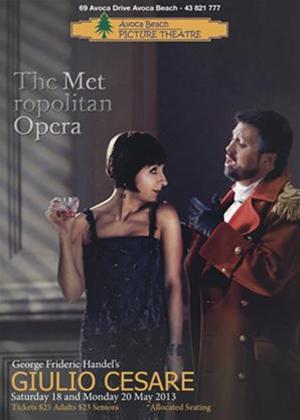 Rent Giulio Cesare: Metropolitan Opera (Bicket) Online DVD Rental