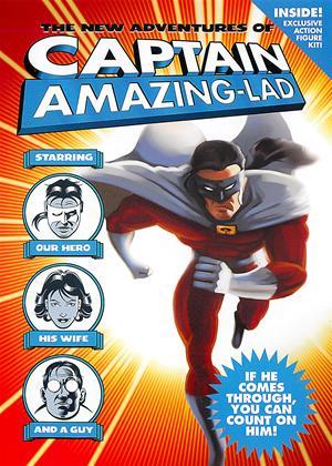 Rent The New Adventures of Captain Amazing-Lad Online DVD Rental