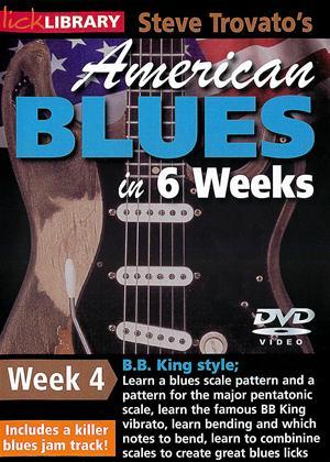 Rent American Blues Guitar in 6 Weeks: Week 4 - B.B.King Online DVD Rental