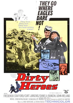 Rent Dirty Heroes (aka Dalle Ardenne All'inferno) Online DVD Rental
