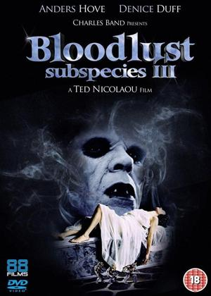 Rent Subspecies 3: Bloodlust (aka Bloodlust: Subspecies 3) Online DVD Rental