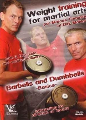 Rent Weight Training for Martial Arts Barbells and Dumbbells Online DVD Rental