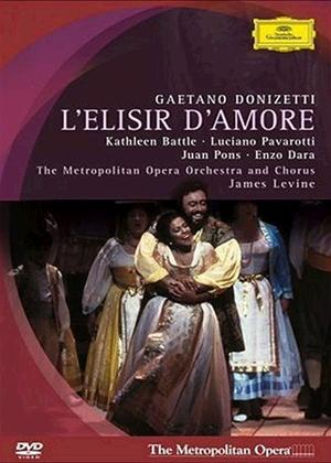 Rent Donizetti: L'Elisir D'Amore: The Metropolitan Opera Online DVD Rental