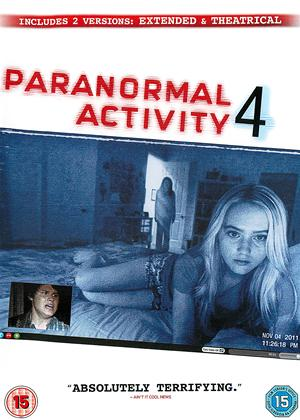 Rent Paranormal Activity 4 Online DVD Rental