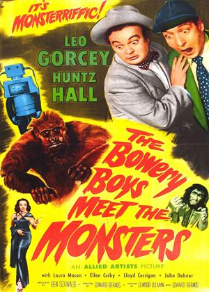 Rent The Bowery Boys Meet the Monsters Online DVD Rental