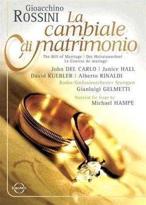 Rent Rossini: La Cambiale Di Matrimonio Online DVD Rental