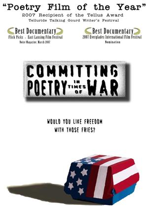 Rent Committing Poetry in Times of War Online DVD Rental