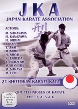 Rent JKA: Shotokan Karate Kata Online DVD Rental