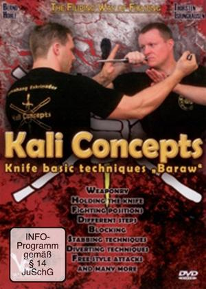 Rent Kali Concepts Knife basic techniques: Baraw Online DVD Rental