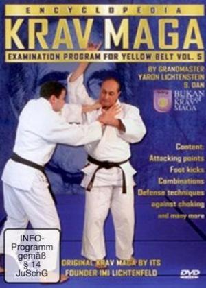 Rent Krav Maga Encyclopedia Examination Program for Yellow Belt: Vol.5 Online DVD Rental