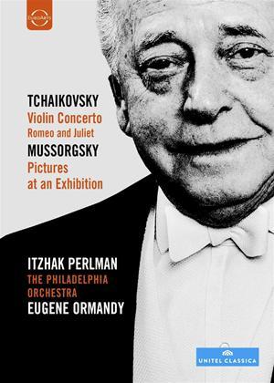 Rent Eugene Ormandy and Itzhak Perlman Online DVD Rental