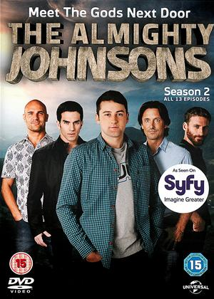 Rent The Almighty Johnsons: Series 2 Online DVD Rental