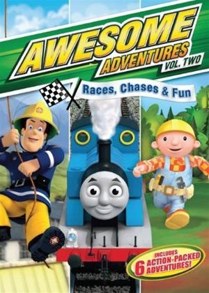 Rent Awesome Adventures: Races, Chases and Rescues Online DVD Rental