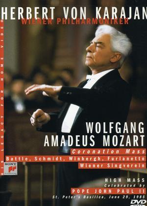 Rent Mozart: Coronation Mass: Herbert Von Karajan Online DVD Rental