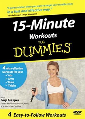 Rent 15 Minute Workouts for Dummies Online DVD Rental