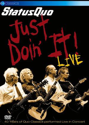 Rent Status Quo: Just Doin' it Live Online DVD Rental
