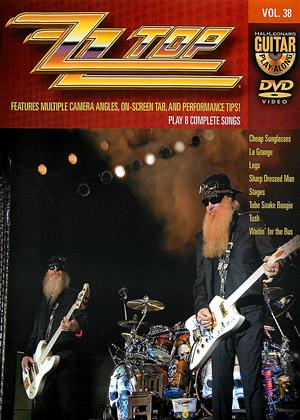 Rent Guitar Play-Along: ZZ Top Online DVD Rental