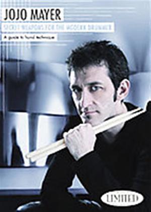 Rent Jojo Mayer: Secret Weapons for the Modern Drummer Online DVD Rental