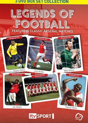 Rent Legends of Football: Classic Arsenal Matches Online DVD Rental