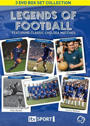 Rent Chelsea FC: Legends of Football: Classic Matches Online DVD Rental
